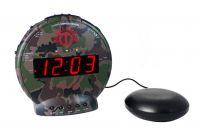 Sonic Bunker Bomb Extra Loud Alarm Clock