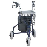 Steel Three Wheel Rollator Walker