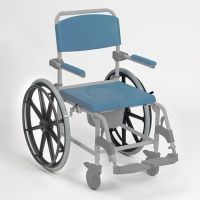 Adaptable Self Propelled Shower Commode Chair