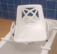 Rotating Bath Seat