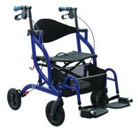 Opti Rolly Rollator And Transporter Chair
