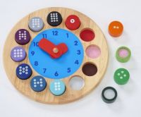 Tell by Touch Teaching Clock