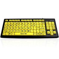 Big Button Keyboard With High Contrast Extra Large Keys