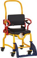 Stalham Paediatric Attendant Propelled Shower Chair And Commode