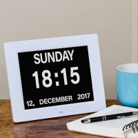 Dementia Day Dual Display Clock