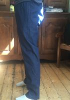 Mens Elasticated Waist Pull On Jean Trousers