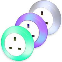 Plug Through Night Light