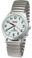 Radio Controlled Talking Watch With Expanding Strap