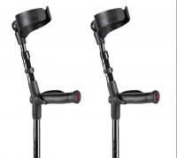 Flexyfoot Closed Cuff Anatomic Grip Crutches