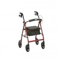 Lightweight Aluminium 4 Wheel Rollator