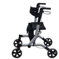 Deluxe Ultra Lightweight Folding 4 Wheeled Rollator
