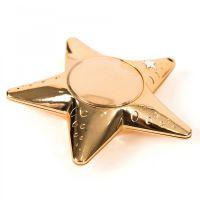 Recordable Talking Metallic Gold Stars