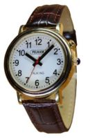 Talking Watch With Leather Strap