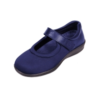 Walmer Ladies Extra Wide Stretch Shoe