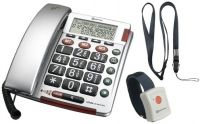 Bigtel 50 Alarm Plus Big Button Amplified Corded Telephone