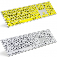Large Print Mac Keyboard For Visually Impaired