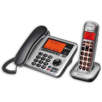 BigTel 1480 Desk and Cordless Phone Set