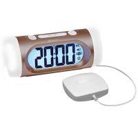 Tcl350 Big Display Extra Loud Vibrating Clock With Vibration Pad