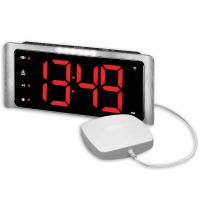Big Display Radio Controlled Digital Extra Loud Alarm Clock