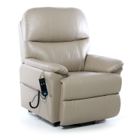 Portland Leather Dual Motor Riser Recliner