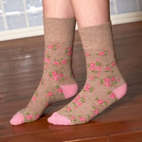 Ladies Gentle Grip Socks