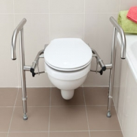 Bariatric Toilet Rail