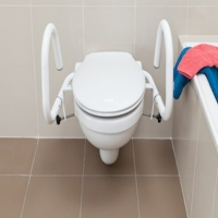 Toilet Pan Support Rails