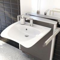 Height Adjustable Curved Washbasin