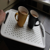 Stay-Put Non Slip Tray