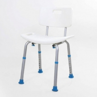 Atlantic Contour Shower Stool With Back