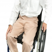 Elasticated Waist Wheelchair Premium Cotton Chinos - selected sizes
