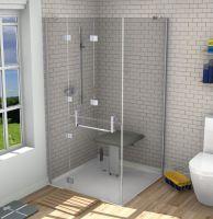 Opulence Corner Shower Door-enclosure