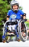 Mini Box Childrens Wheelchair
