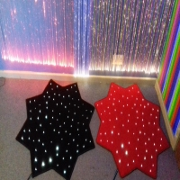 Fibre Optic Star Shaped Carpet Kit