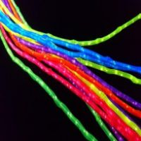 Bamboo Polymersparkle Fibre Optic