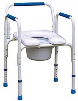 Alustyle 4-in-1 Commode Chair Safety Frame
