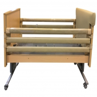 Clear Safety Sides Bed Rail