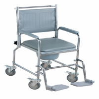 Height Adjustable Wheeled Commode
