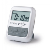 Talking Digital Timer and Alarm Clock
