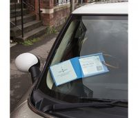 Lockable Blue Badge Permit Cover