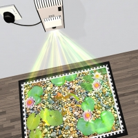 Mini Enchanted Interactive Floor Projector