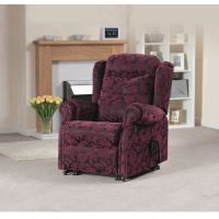 Kingsman Single Motor Riser Recliner Chair