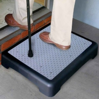 Non-slip Outdoor Step With Extra Large Platform