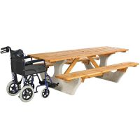 Waterston Concrete And Wheelchair Access Timber Picnic Unit