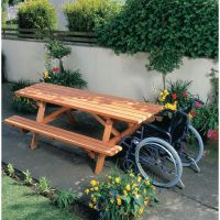 Cotswold Wheelchair Accessible Picnic Bench