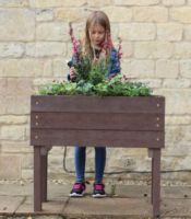 Raised Height Garden Planter