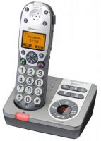 PowerTel 780 Cordless Amplified Telephone With Answering Machine