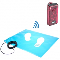 Wireless Floor Pressure Mat And Pager Set
