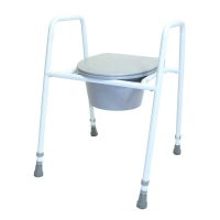 NRS Height Adjustable Toilet Frame and Seat