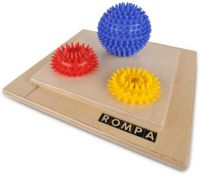 Spiky Balls Tactile Square
